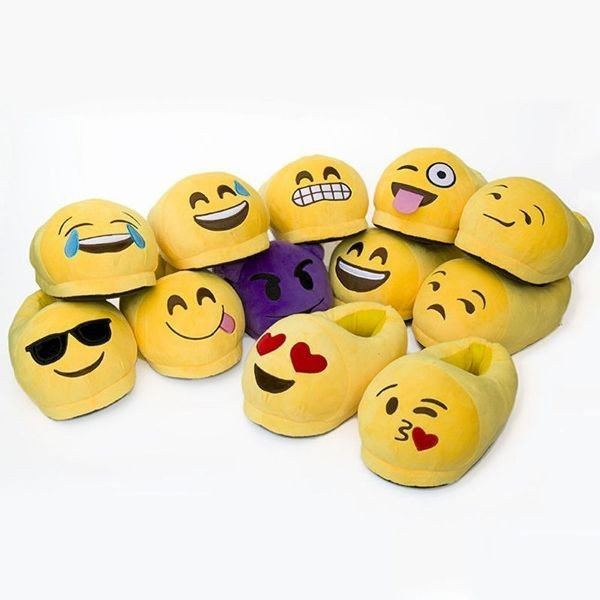 emoji-slippers-1 50 Affordable Gifts for Star Wars & Emoji Lovers