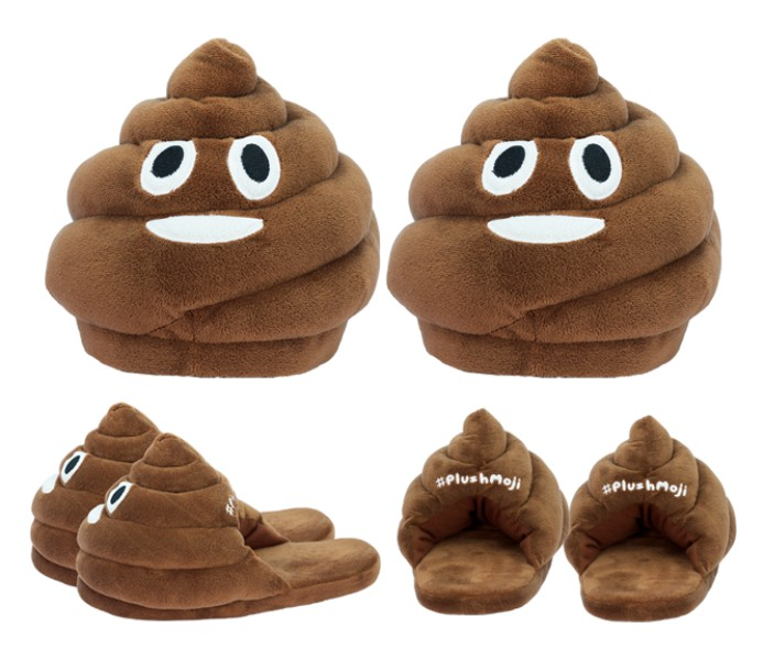 emoji-slippers 50 Affordable Gifts for Star Wars & Emoji Lovers