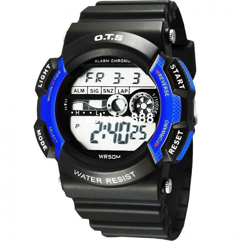 fashion-table-sports-watch-waterproof-kids 75 Amazing Kids Watches Designs