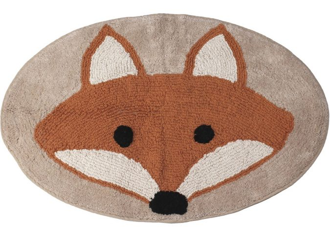 fox-bathroom-rug3-1-675x489 25+ Cutest Kids Bathroom Rugs for 2018