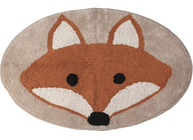fox-bathroom-rug3-1-675x489 25+ Cutest Kids Bathroom Rugs for 2020