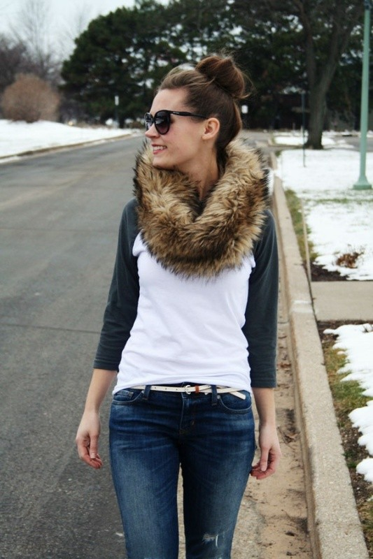 fur-scarves-1 20+ Catchiest Scarf Trends for Women in 2020