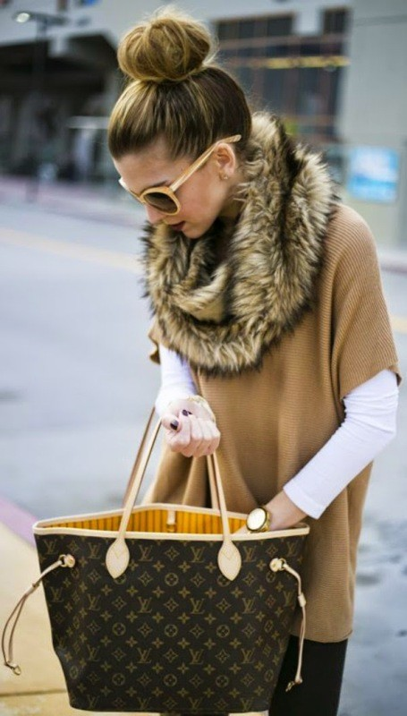 fur-scarves 11 Tips on Mixing Antique and Modern Décor Styles