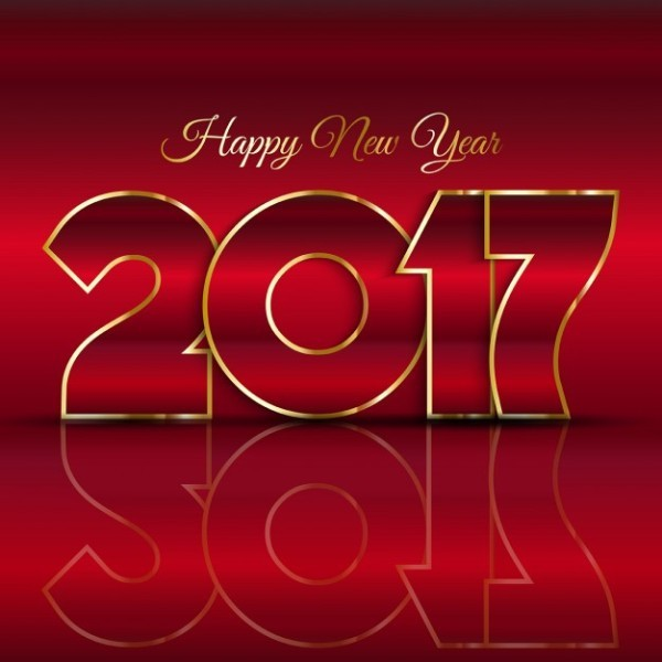 happy-new-year-2017-31 50+ Best Stunning Happy New Year Greeting Cards for 2018