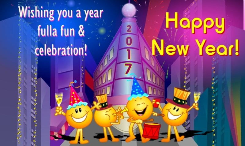 happy-new-year-2017-44 50+ Stunning Happy New Year Greeting Cards for 2017