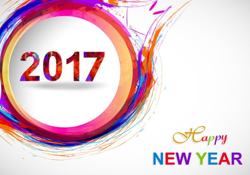 happy-new-year-2017-74 50+ Best Stunning Happy New Year Greeting Cards