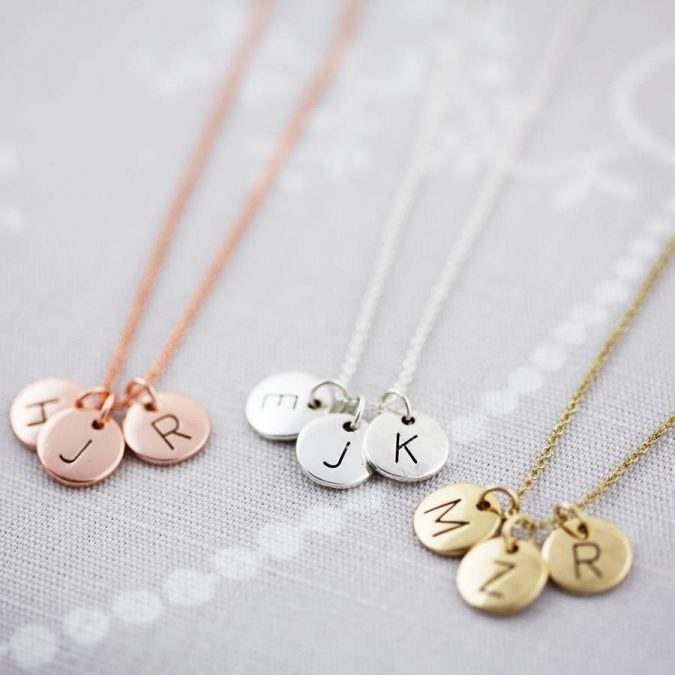 initialed-necklaces-675x675 6 Main Necklace Trends For Summer 2018