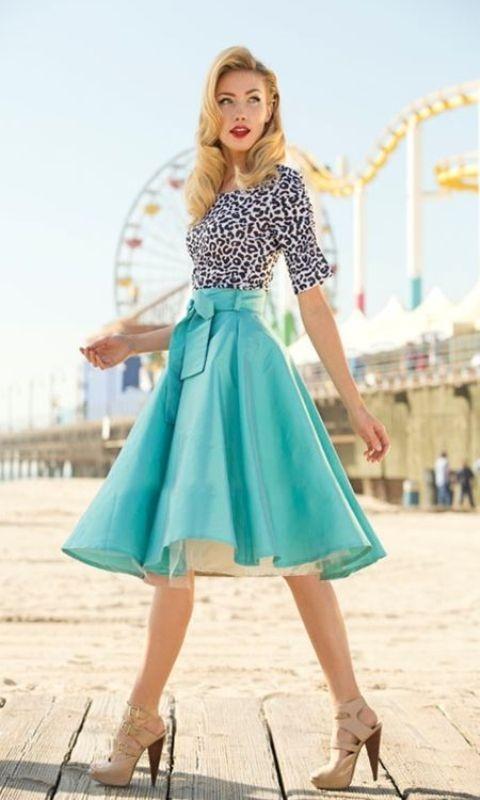 knee-length-skirts 15 Spring & Summer Fashion Trends for Women 2017