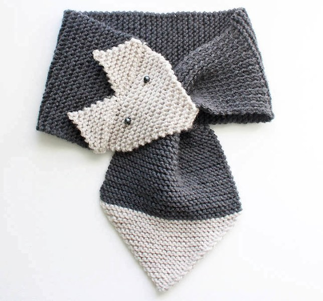 knit-scarves-12 20+ Catchiest Scarf Trends for Women in 2020