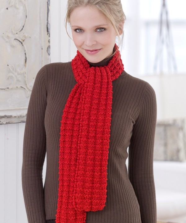 knit-scarves-13 +20 Catchiest Scarf Trends for Women in 2017