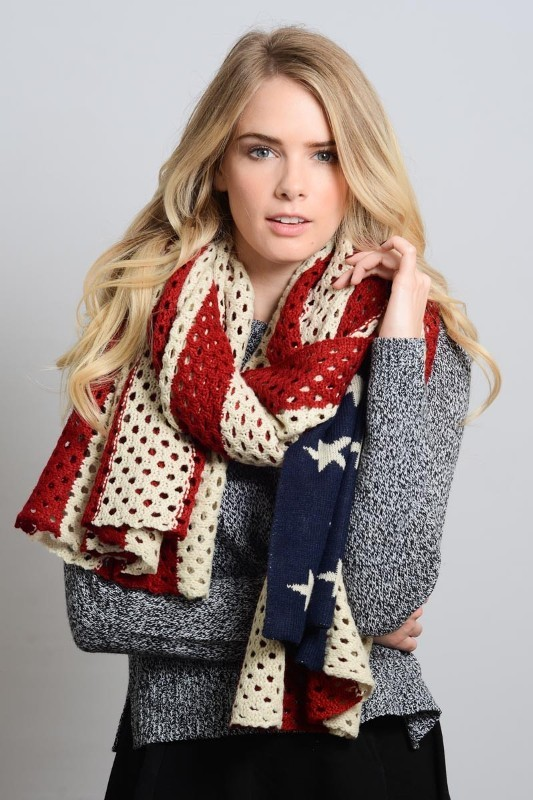 knit-scarves-7 20+ Catchiest Scarf Trends for Women in 2020