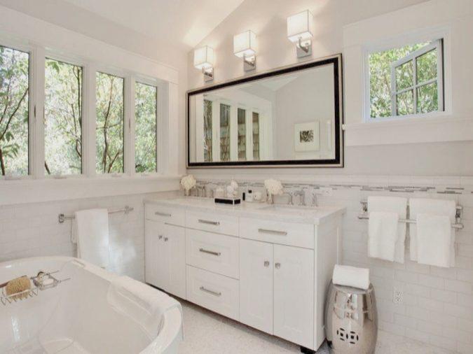 large-bathroom-mirror2-675x506 27+ Trendy Bathroom Mirror Designs of 2017