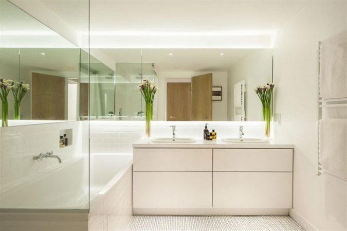 large-bathroom-mirror3-675x449 27+ Trendy Bathroom Mirror Designs of 2017