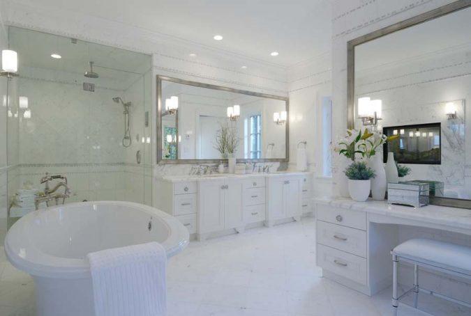 large-bathroom-mirror4-675x454 Latest Trends: Best 27+ Bathroom Mirror Designs