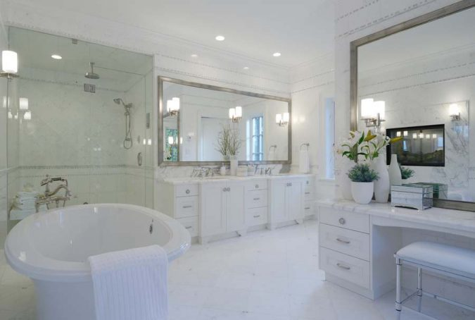 large-bathroom-mirror4-675x454 27+ Trendy Bathroom Mirror Designs of 2017