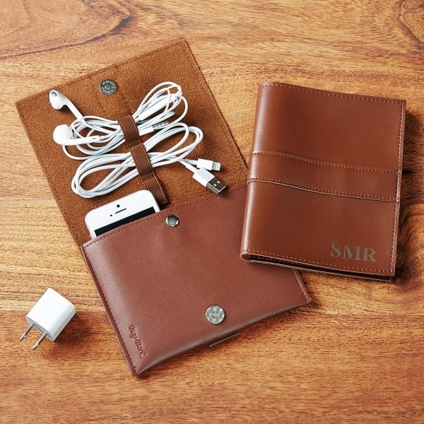leather-tech-organizer-1 39 Most Stunning Christmas Gifts for Teens 2017