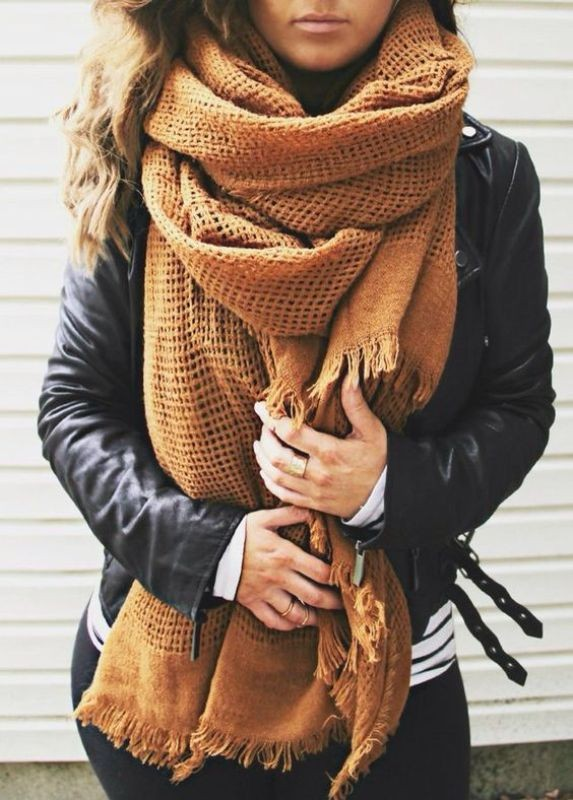 long-scarves-15 20+ Catchiest Scarf Trends for Women in 2020