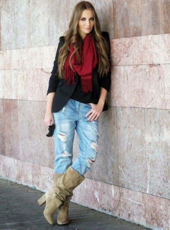 long-scarves-16 20+ Catchiest Scarf Trends for Women in 2020