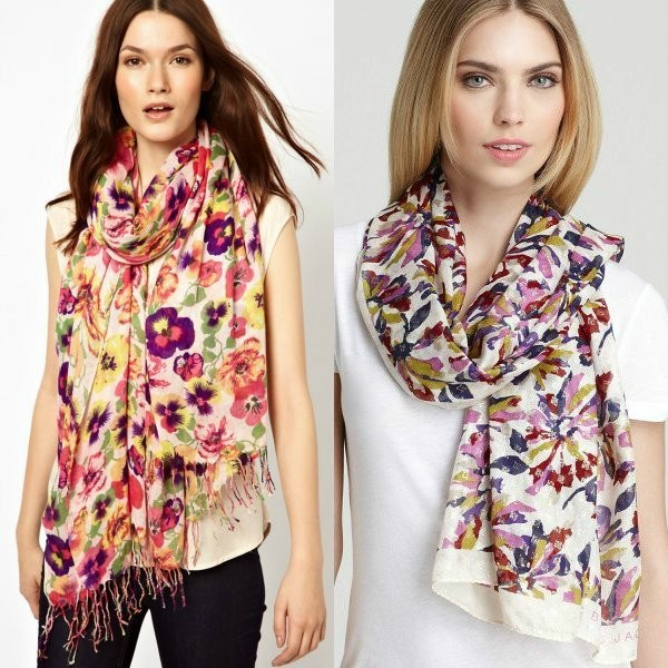 long-scarves-19 +20 Catchiest Scarf Trends for Women in 2017