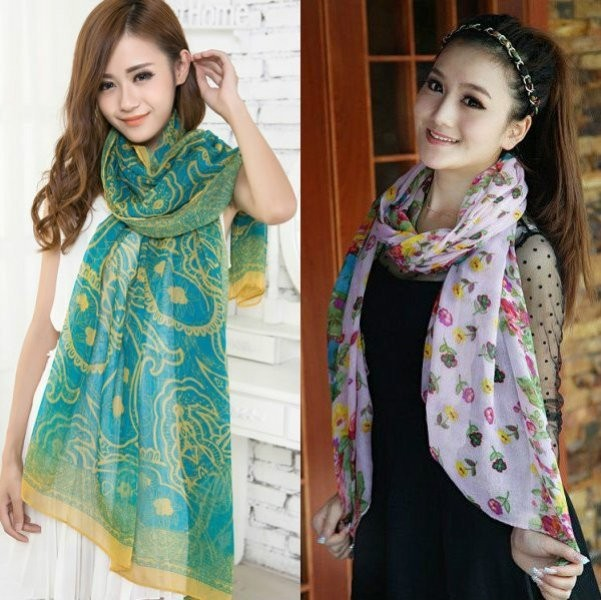 long-scarves-20 +20 Catchiest Scarf Trends for Women in 2017