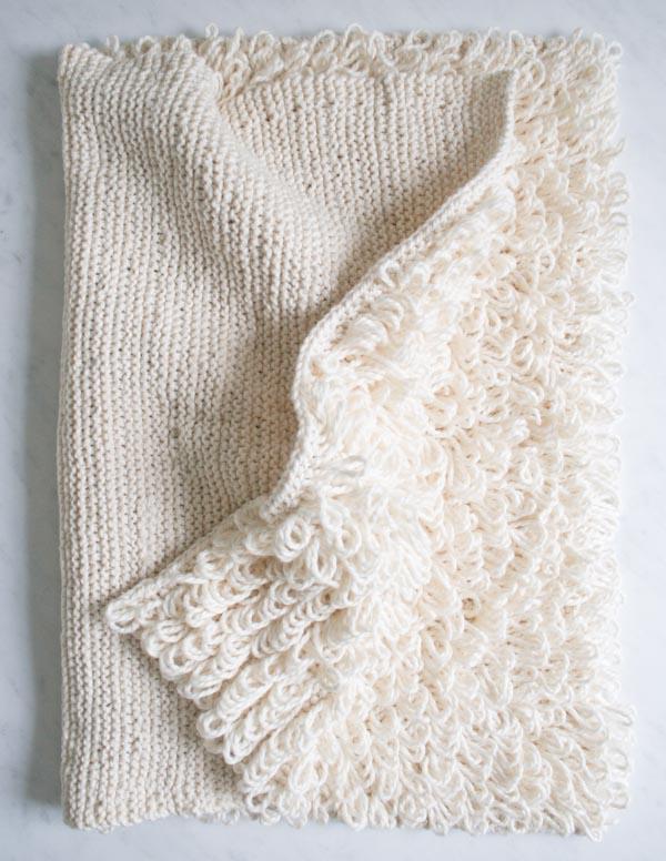 loopy-yarn-bathmat 6 Easy DIY Bathroom Rugs