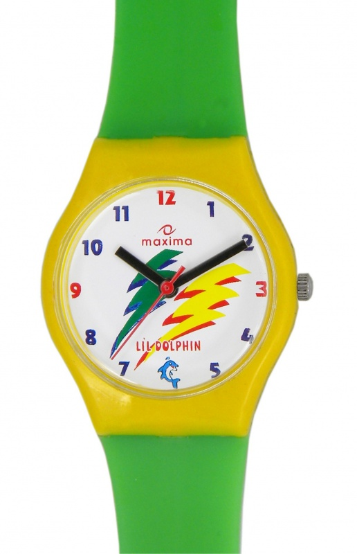 maxima-green-plastic-kids-analog-watch-04421ppkw 75 Amazing Kids Watches Designs