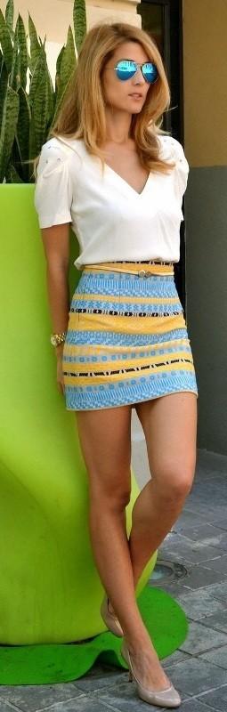 miniskirts 15 Spring & Summer Fashion Trends for Women 2017