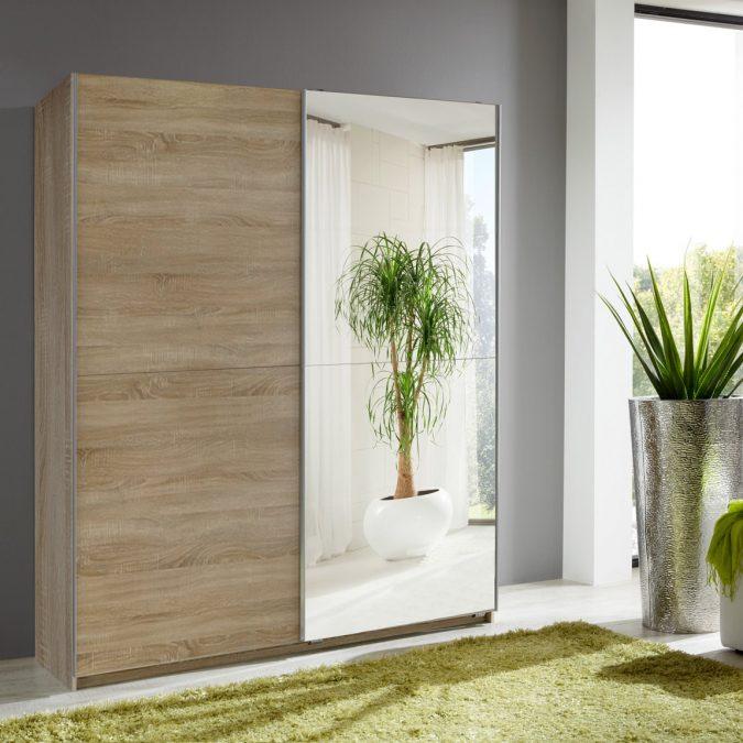 mirror-like-wardrobe5-675x675 6 Brilliant Designs of Bedroom Wardrobes