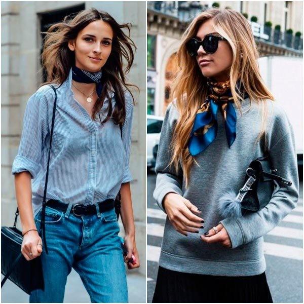 neckerchiefs-13 20+ Catchiest Scarf Trends for Women in 2018