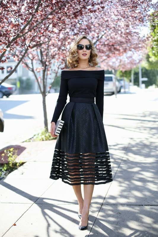off-the-shoulder-2 15+ Best Spring & Summer Fashion Trends for Women 2018