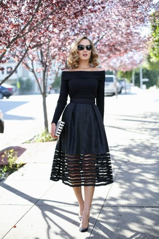 off-the-shoulder-2 15+ Best Spring & Summer Fashion Trends for Women 2020