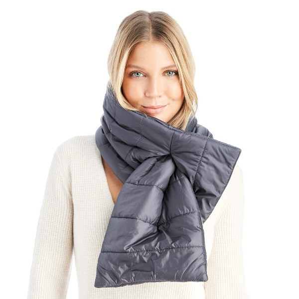 puffer-scarves-1 20+ Catchiest Scarf Trends for Women in 2020