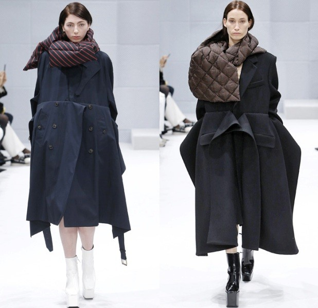 puffer-scarves-3 20+ Catchiest Scarf Trends for Women in 2020