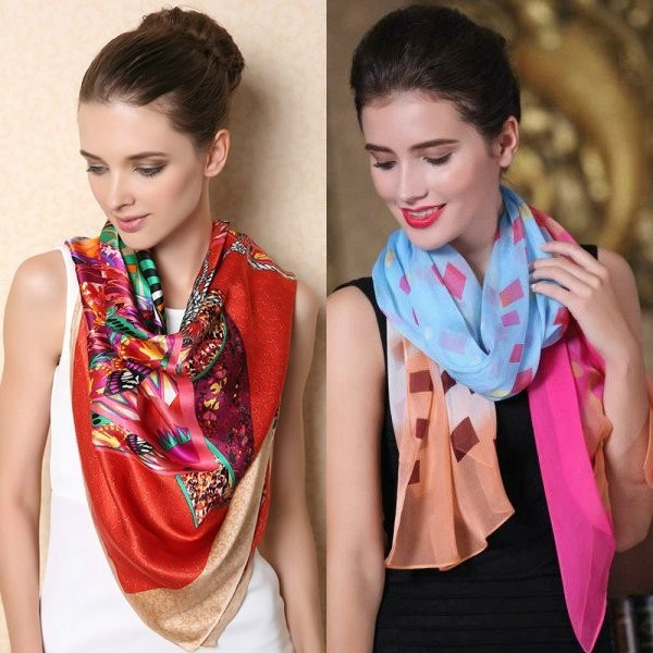 scarf-trends-2017-8 +20 Catchiest Scarf Trends for Women in 2017