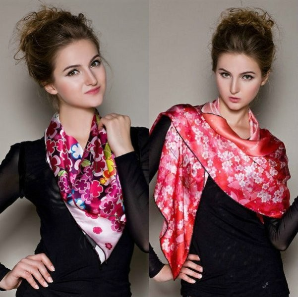 scarf-trends-2017-9 20+ Catchiest Scarf Trends for Women in 2020