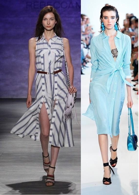 shirtdresses-8 15 Spring & Summer Fashion Trends for Women 2017