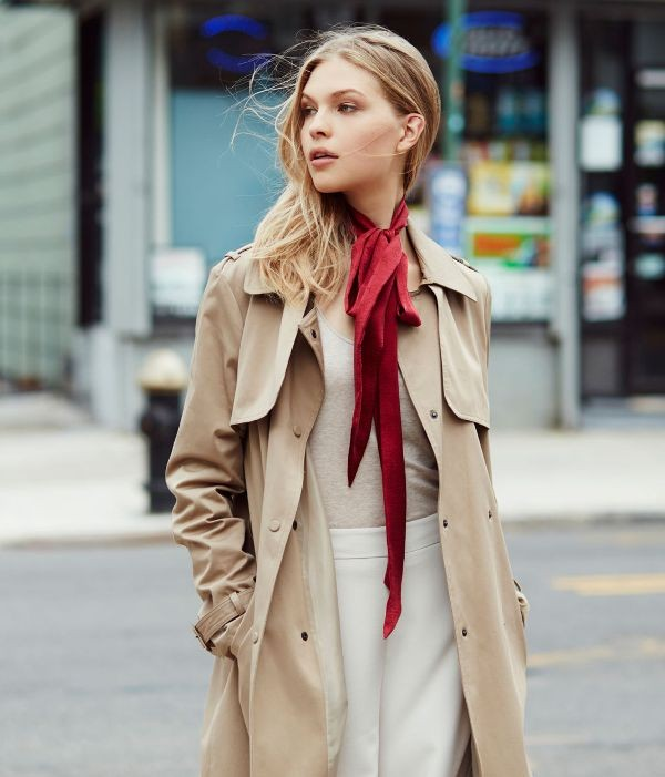 skinny-scarves-14 20+ Catchiest Scarf Trends for Women in 2020