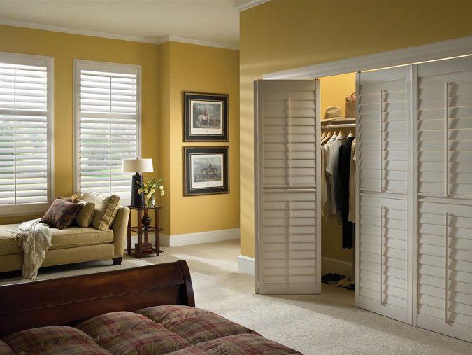 slatted-door-wardrobe10-675x507 6 Brilliant Designs of Bedroom Wardrobes