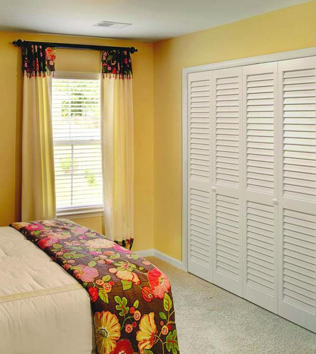 slatted-door-wardrobe4 6 Brilliant Designs of Bedroom Wardrobes