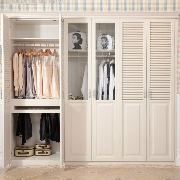 slatted-door-wardrobe9 Most Stylish 6 Bedroom Wardrobes Design Ideas
