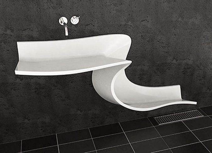 slide-bathroom-sink3-675x488 Top 10 Modern Bathroom Sink Design Ideas