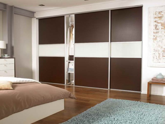 sliding-door-wardrobe4-675x506 Most Stylish 6 Bedroom Wardrobes Design Ideas