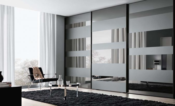 sliding-door-wardrobe6-675x410 Most Stylish 6 Bedroom Wardrobes Design Ideas