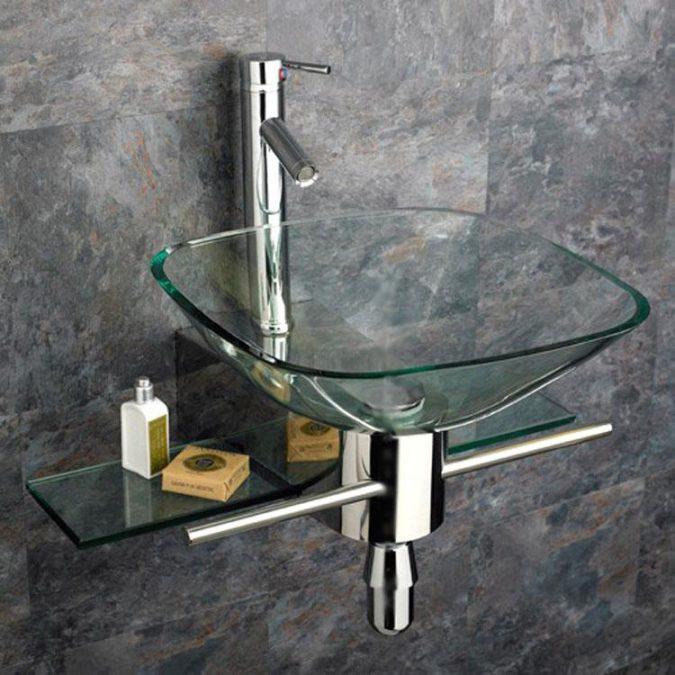 square-glass-sink2-675x675 Top 10 Modern Bathroom Sink Design Ideas