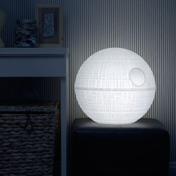 star-wars-death-star-mood-light 50 Affordable Gifts for Star Wars & Emoji Lovers