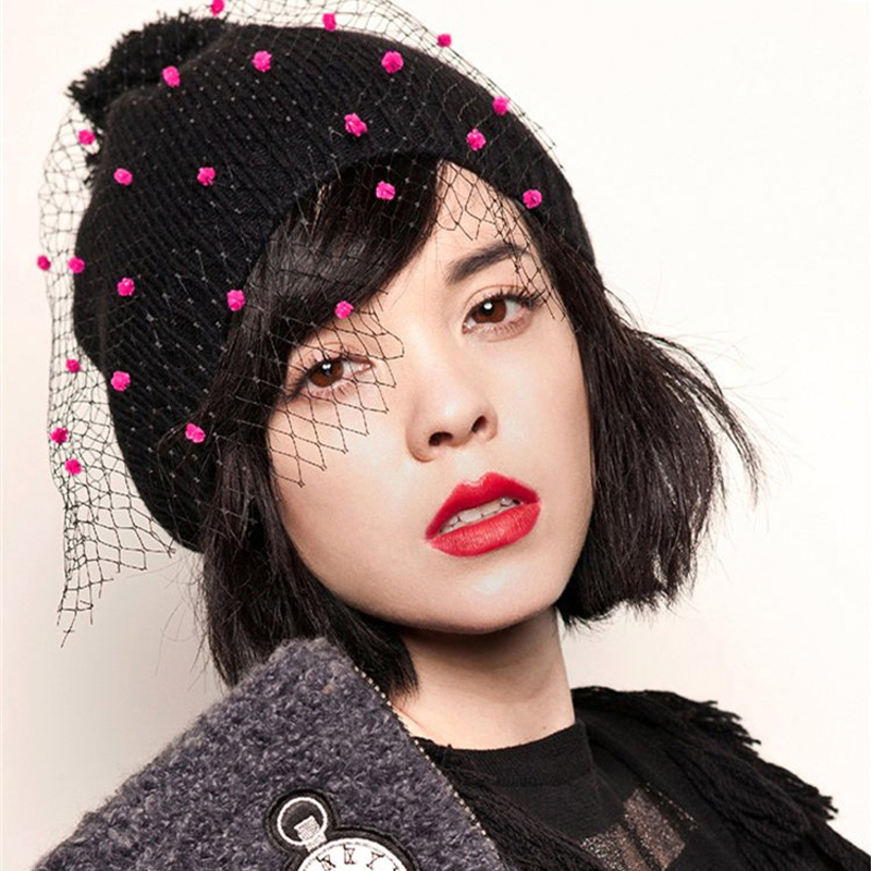 the-net-veiled-hats5 15+ Women's Hat Trend Forecast For Winter & Fall of 2020