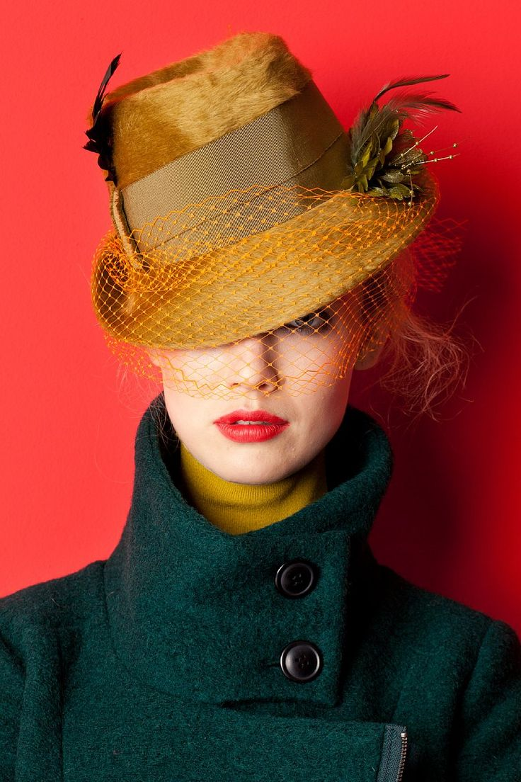 the-net-veiled-hats6 15+ Women's Hat Trend Forecast For Winter & Fall of 2018
