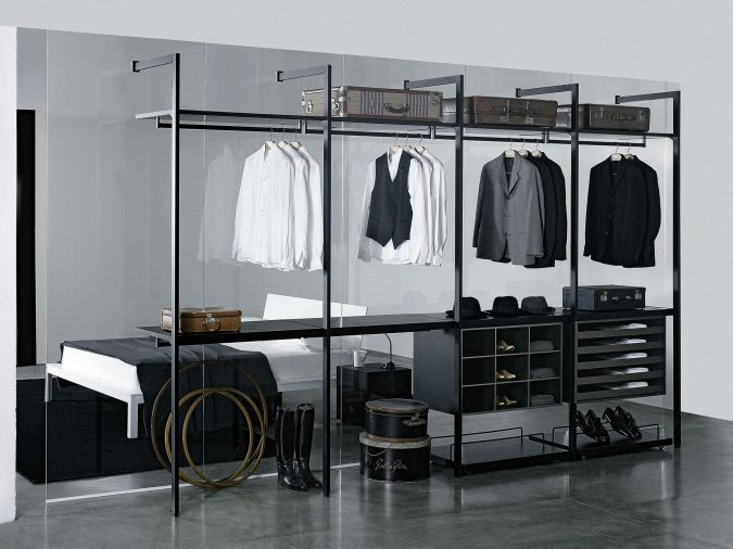 transparent-glass-wardrobe4-675x506 Most Stylish 6 Bedroom Wardrobes Design Ideas