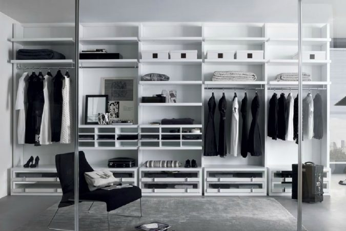 transparent-glass-wardrobe5-675x451 Most Stylish 6 Bedroom Wardrobes Design Ideas