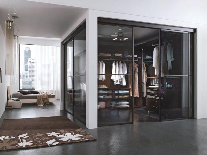 transparent-glass-wardrobe6-675x506 Most Stylish 6 Bedroom Wardrobes Design Ideas